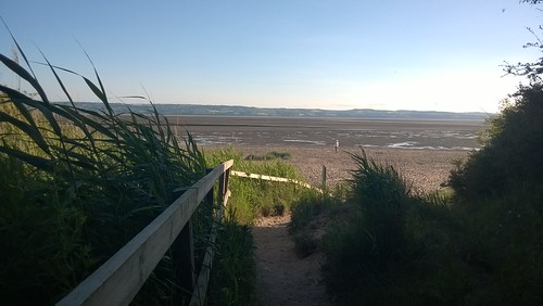 A Walk on Thurstaston beach