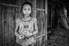 luang prabang village girl (Gerrykerr) Tags: travel mono blackwhite asia flickr ngc laos laungprabang