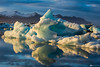 Iceberg (Fabio tomat) Tags: sunset sun snow mountains ice water birds iceland nikon tramonto lagoon acqua icebergs jökulsárlón ghiaccio ghiacciaio islanda icerocks fabiotomat