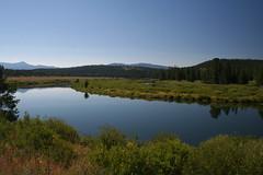 Grand Teton Park trip, Wyoming (106) (OttawaRocks) Tags: mountain lake reflection meadow wyoming grandtetonnationalpark