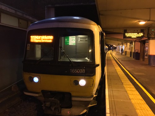 165038 ready to work 1H50 from Banbury to Marylebone on 24/12/16