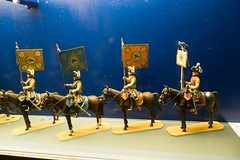 Toy soldiers on horseback (quinet) Tags: 2016 berlin germany museumofberlin soldaten spielzeug jouets soldats soldiers toy