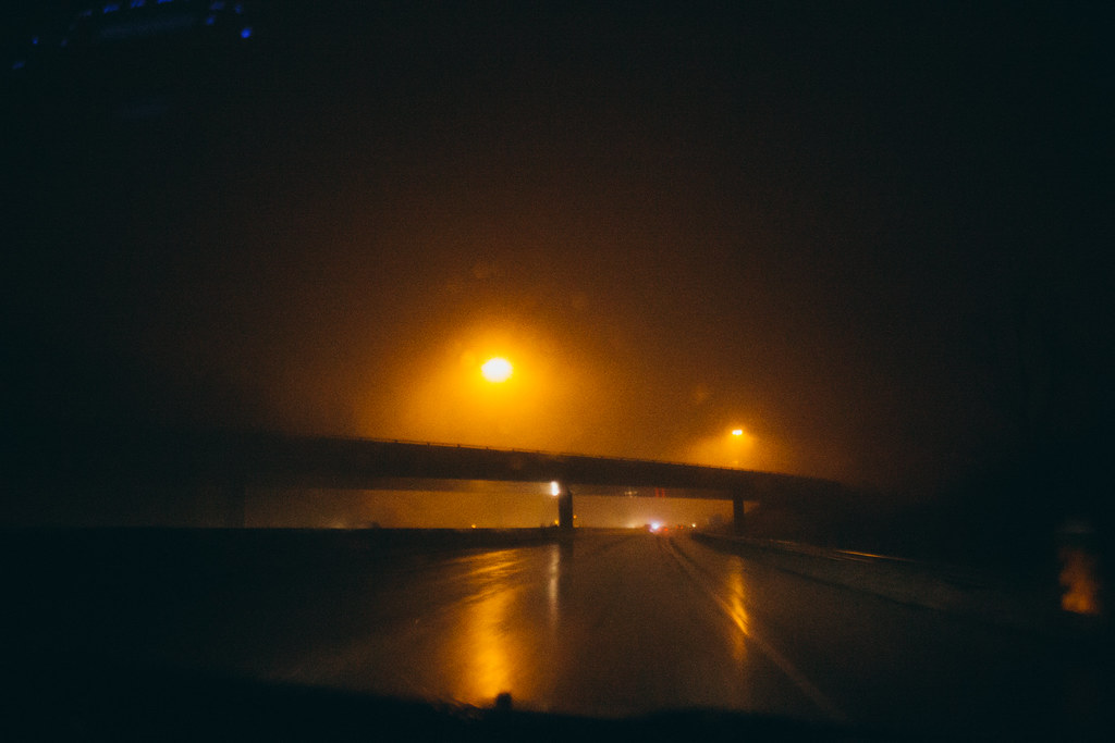 IMG 7607 Difficult Listening Tags Travel Drive Night Rain Aesthetic Orange Sodium Lights Driving