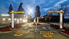 DOUBLE JEOPARDY (akahawkeyefan) Tags: mcdonalds davemeyer kingsburg drivethru lights
