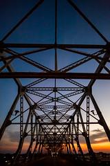 And All My Companions Are Taken Away (Thomas Hawk) Tags: america caddo caddoparish longallenbridge louisiana shreveport usa unitedstates unitedstatesofamerica bridge sunrise fav10 fav25 fav50 fav100