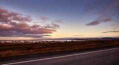 View of Keflavík (bacon.dumpling) Tags: keflavík iceland cloud dusk landscape nikond750 nopeople nobody onthemove outdoor road scenic sigma24mmf14dghsmart sky sunset