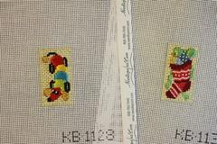 December 21 2016, Wednesday (interchangeableparts) Tags: needlepoint kirkbradley toyshoppe adventcalendar