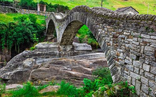 Lavertezzo, Ponte Dei Salti