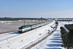 E444 070 Tartaruga (luciano.deruvo) Tags: e444070 ic trenitalia rfi ferroviedellostato intrercity