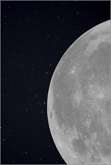moon and stars (mikeyp2000) Tags: stars moon space astrophotography lunar