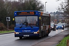 IMGP7251 (Steve Guess) Tags: esher surrey england gb uk bus stagecoach dennis dart plaxton pointer gx52kwp 35217 portsmouthroad marquisofgranby a307