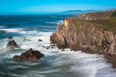 Portuguese Beach - California (Slobodan Miskovic) Tags: portuguesebeach nikond750 nikon nikon2470mmf28 california costal ocean longexposure day usa blue nd8