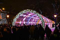DSC_0147 (Егор Денисенко) Tags: decoration crowd people night light