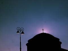 sky (Darek Drapala) Tags: sky skyskape sun sunset sunrise sunshine sunbeams sunlight church cross buildings city warsaw warszawa panasonic poland polska panasonicg5 lumix light urban