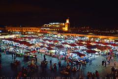 Under the pressure of modernization (T Ξ Ξ J Ξ) Tags: morocco marrakesh djemaaelfna d750 nikkor teeje nikon2470mmf28 street stalls