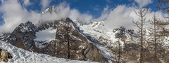 Panoramic view (No9 (Tony)) Tags: 2017 canoneos100d courmayeur italy sigma sigma18200mmf3563dcoshsm skiholiday skiing