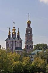 Monasterio Novodévichi (fragmento), Moscú. (svet.llum) Tags: monasterio iglesia catedral paisaje ciudad moscú rusia otoño arquitectura