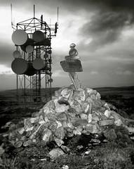 Some balancing shit (Mr Miner Willy) Tags: balance balancing shit rocks cairn kirtomy mast transmitter sutherland scotland highland highlands bettyhill