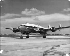 Arkansas Aviation Historical Society Image (San Diego Air & Space Museum Archives) Tags: lockheed constellation lockheedconstellation deltaairlines delta prop props propellers propliner