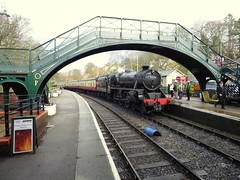 Pickering (feroequineologist) Tags: 44806 black5 lms nymr northyorkshiremoorsrailway railway train steam
