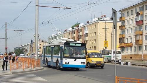 Irkutsk trolleybus VMZ-5298.00 296 ©  trolleway
