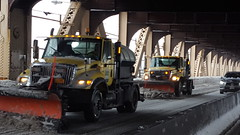 Winter Storm Stella - NYC DOT Snow Removal Efforts (NYCDOT) Tags: nycdot winterstorm queensborobridge