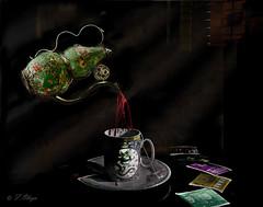 Te para un Jiangshi. - (Tea for a Jiangshi). Dedicado a la Emperatriz Tola y a su vasallo  Eloy. (frankolayag) Tags: te taza tetera frankolaya jiangshi muertosvivientes vampiros venezuela valencia folklor china mitos sangre sonyalpha