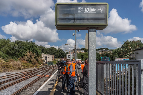 THE MINISTER PLUS PLATFORM 10 AND THE PHOENIX PARK RAILWAY TUNNEL [NOT FORGETTING IRISH RAIL STAFF] REF-107111