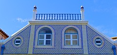 Blue (pedrosimoes7) Tags: blue windows building cc tiles creativecommons azulejos portuguesetiles portuguesearchitecture arquitecturaportuguesa dwwg
