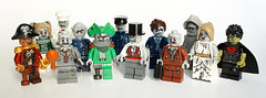 Zombie fest (Vanjey_Lego) Tags: monster lego zombie pirates pirate monsters minifig minifigs minifigure minifigures monsterfighters