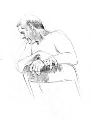 life drawing at redline denver (paul heaston) Tags: art nude sketch artwork sketchbook denver figuredrawing redline lifedrawing