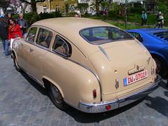 Borgward Hansa 2400 Schräghecklimousine 1952-55 (Zappadong) Tags: auto classic car automobile voiture coche classics oldtimer oldie carshow hansa essenkettwig borgward youngtimer automobil 2015 2400 oldtimertreffen 195255 zappadong schräghecklimousine