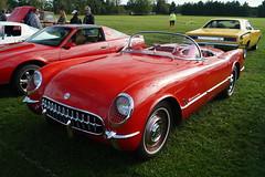 1954 Chevrolet Corvette (DVS1mn) Tags: auto cars chevrolet car minnesota automobile gm lounge bowtie chevy hugo blacksmith mn automobiles carshow generalmotors