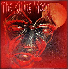 The Killing Moon (virtually_supine popping in and out) Tags: red moon texture face photomanipulation mask text creative vividcolour horror layers digitalartwork gradientfill graphicartwork photoshopelements9 kreativepeopletreatthis100 sourceimageredmasksculpturebyxandram