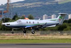 N234RG (GH@BHD) Tags: corporate aircraft aviation pilatus pc12 executive turboprop bhd belfastcityairport bizprop pcxii n234rg