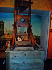 Madame tussauds (Elysia in Wonderland) Tags: madame adam lucy statues pete blackpool tussauds elysia waxworks guillotine