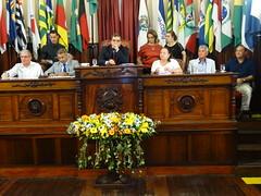 Chico D'Angelo, Romário, Andrigo de Carvalho, Maria Célia Vasconcellos, Nilton Barreto de Moraes e Waldeck Carneiro