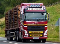 Photo of W16 AFT - Volvo FH - Ferguson Transport (Spean Bridge) Ltd., Corpach, Fort William, Highland, Scotland.