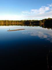 Calm Lake (Rd. Vortex) Tags: reflection nature sunshine canon powershot s90 luonto heijastus kirkkonummi porkkala auringonpaiste