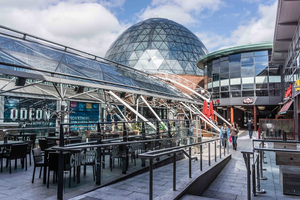 2015 VISIT TO VICTORIA SQUARE SHOPPING CENTRE [BELFAST] REF-108834