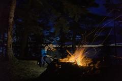 Wieczorne ognisko | Evening campfire