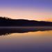 Gleams that upon the lake's still bosom fall