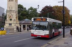 IMGP6595 (Steve Guess) Tags: road uk red england white bus london pointer surrey gb surbiton greater dennis claremont dart slf plaxton abellio