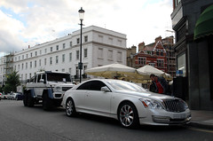 Xenatec 57S Cruisero Coupe & Mercedes-Benz G 63 AMG 6x6 (R_Simmerman Photography) Tags: summer white london 6x6 g united kingdom harrods 63 mercedesbenz saudi arabia mayfair coupe amg supercars combo 2015 sportcars londoncars knightbridge 57s carsoflondon xenatec cruisero