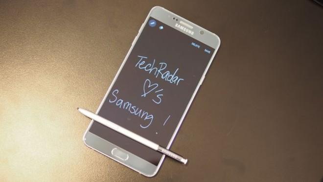 សាមសុង Galaxy Note 5 មានភាពទាក់ទាញបំផុតសម្រាប់អ្នកជំនួញ