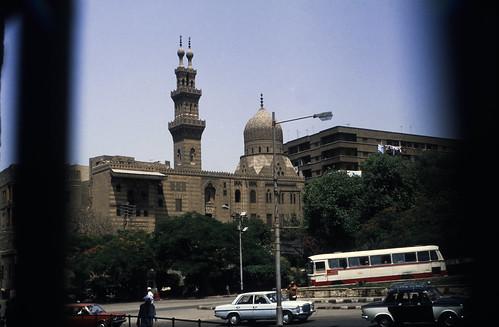 "Ägypten 1983 (17a) Kairo: Qanibay al Ramah Moschee • <a style=""font-size:0.8em;"" href=""http://www.flickr.com/photos/69570948@N04/22598182919/"" target=""_blank"">Auf Flickr ansehen</a>"