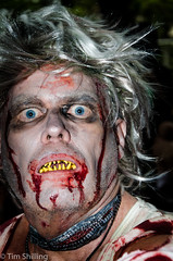 Zombie Invasion (Tim Shilling) Tags: people halloween costume zombie walk sydney fancydress 2015 zombiewalk