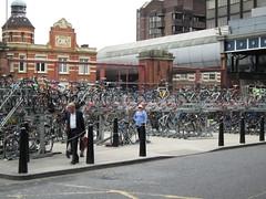 IMG_1013 (Sweet One) Tags: uk england london bicycle unitedkingdom parking racks waterloostation bikeparking