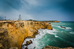 Los Morrillos Lighthouse (JavierVazquez) Tags: cliff lighthouse faro