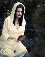 Snow White (Anjella Roessler) Tags: woman film mediumformat dark moody heart snowwhite kodakfilm kodakportra400 kodakportra pentax67ii filmisnotdead